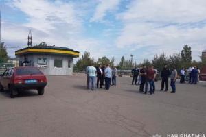 Mykolaiw: Drei Mitarbeiter auf Tankstelle tot aufgefunden - Fotos