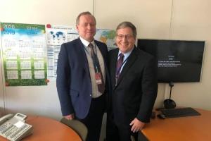 Энергоатом развивает международное сотрудничество для повышения безопасности АЭС