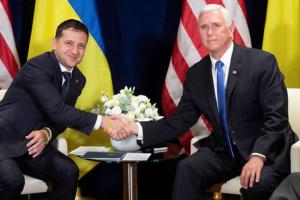 Віцепрезидент США відмовився розсекретити свою розмову із Зеленським