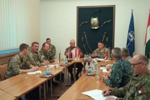 """Багатонаціональний батальйон """"Тиса"""" бере участь у міжнародних навчаннях в Угорщині"""