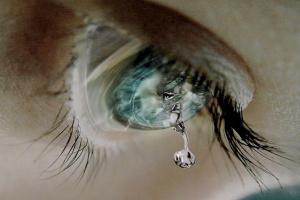 Как выглядят слезы под микроскопом