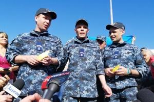 Латвия примет на реабилитацию освобожденных украинских моряков
