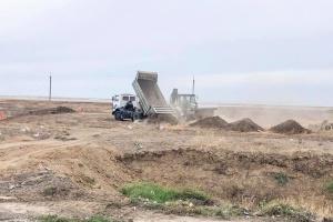 На админгранице с Крымом начали строительство новых КПВВ