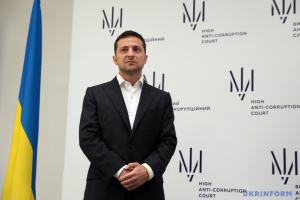 Zelensky signs law on start of Anti-Corruption Court's work
