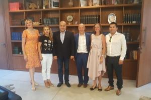 Посол Осташ і мер Біблоса обговорили питання створення осередку української культури