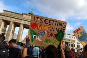 Полтора миллиона человек приняли участие в климатических демонстрациях в Германии