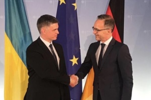 Prystaiko and Maas discuss preparations for Normandy summit