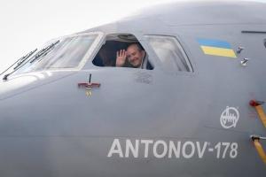 Туреччина зацікавилась українським літаком Ан-178