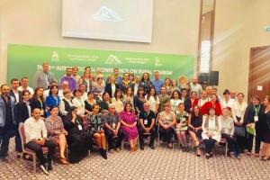 Херсонщина в Грузии участвует в международной конференции по сельскому туризму