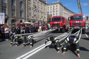 У Києві нагородили найсильніших рятувальників