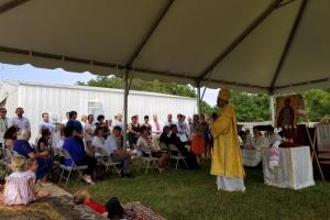 У Північній Кароліні освятили наріжний камінь під будівництво українського храму