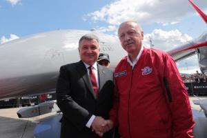 Аваков обговорив з Ердоганом співпрацю у сфері авіабезпеки