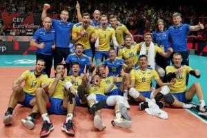 Волейбол: Україна вперше пробилася до чвертьфіналу чемпіонату Європи