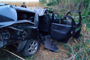 На Хмельнитчине опрокинулось авто, погибли четверо пассажиров