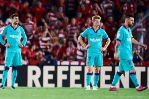 У «Барселоны» худший старт в Ла Лиге за последние 25 лет