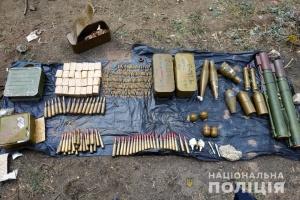 На Луганщині виявили схрон з гранатометами