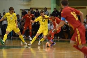 Сборная Украины по футзалу проиграла свой первый спарринг в Ивано-Франковске
