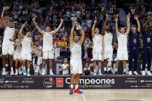 """Баскетболисты """"Реала"""" во второй раз подряд выиграли Суперкубок Испании"""