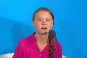 Грета Тунберг отправит за премией в Гаагу своего представителя