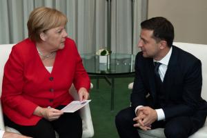 Merkel invites Zelensky to Berlin