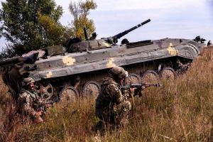 Окупанти  накрили вогнем зі 122 калібру позиції ЗСУ під Водяним і Новолуганським