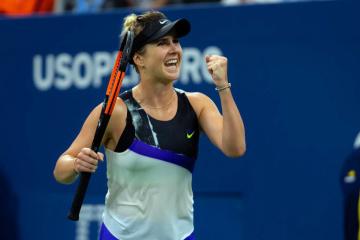 US Open: Elina Switolina steht im Viertelfinale