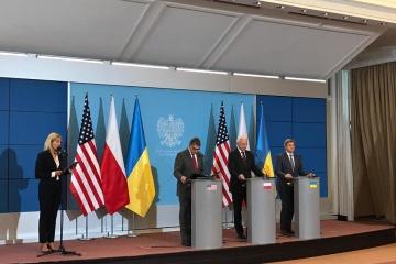 """Ukraina, Polska i Stany Zjednoczone podpisały memorandum """"gazowe"""" ZDJĘCIA"""