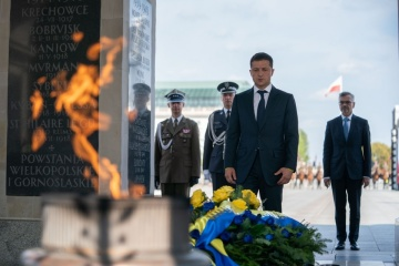 President in Warsaw takes part in events dedicated to 80th anniversary of outbreak of World War II