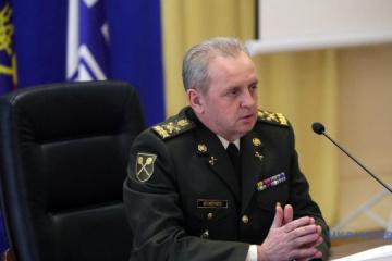 President dismisses Muzhenko from military service