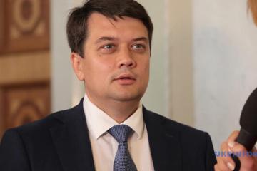 Over 300 bills already registered in Verkhovna Rada - Razumkov