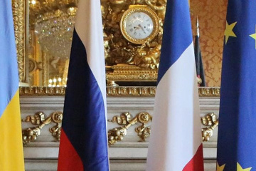 """Außenminister Prystajko: Treffen des """"Normandie-Quartetts"""" in Paris wegen Russland verschoben"""