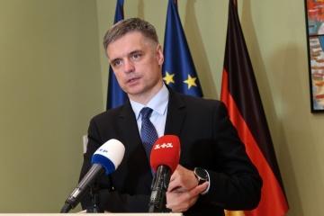 Prystaiko zeigt Maas Ergebnisse deutscher Unterstützung für Ukraine