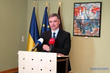 MAE: L'Ukraine ne fera pas de compromis inacceptables pour mettre fin à la guerre