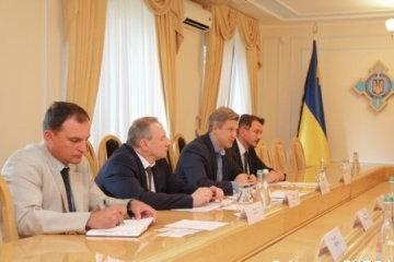 Danylyuk meets with Westinghouse representatives to discuss nuclear and energy security