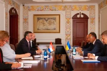 Ukraine, Croatia discuss cooperation in various spheres