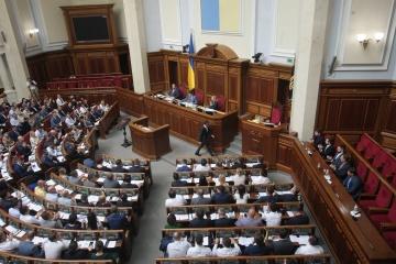 Rada przesłała do KTU siedem projektów ustaw Zełenskiego w sprawie poprawek do Konstytucji