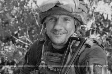 アゾフ連隊隊員、スヴィトロダルシク近郊にて狙撃で死亡