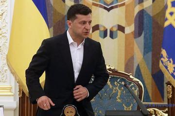 Präsident Selenskyj ernennt neue Mitglieder des Nationalen Sicherheitsrates