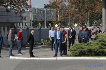 Zelensky llega a Boryspil