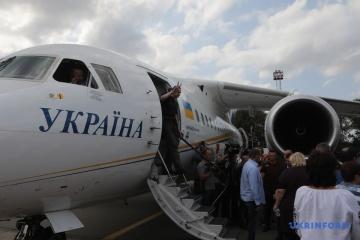 Büro des Präsidenten veröffentlicht Liste ausgetauschter Ukrainer