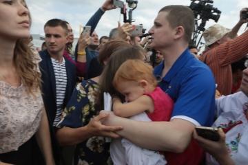 La Oficina del Presidente de Ucrania da a conocer la lista de los ucranianos liberados