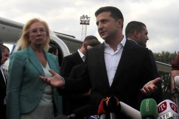 ツェマフ氏への尋問はロシアへの引き渡し前に行われた=ゼレンシキー大統領