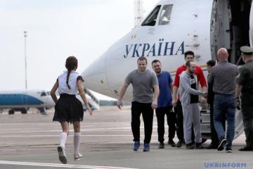 Byli więźniowie Kremla opowiedzieli o swojej niewoli i o powrocie WIDEO