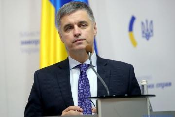 Członkostwo w NATO pozostaje priorytetem Ukrainy - Minister spraw zagranicznych