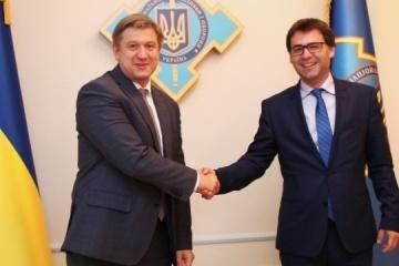 Danyljuk spricht mit moldauischem Außenminister über Gas, Grenze und Energiesicherheit
