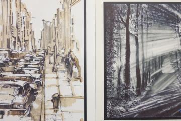 In Riga Gemäldeausstellung von Roman Suschtschenko eröffnet