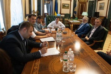 Zelensky, Kolomoisky seek compromise on PrivatBank – Ukrainian PM