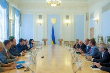 Razumkov agradece al Congreso Mundial de Ucrania por defender los intereses nacionales