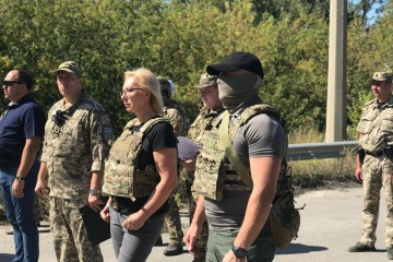 Fifty-four convicts transferred from occupied Luhansk region to state-controlled Ukraine