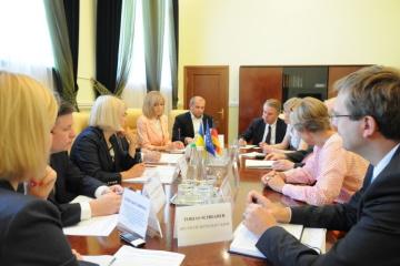 Ucrania y Alemania continúan cooperando en la implementación de la descentralización (Fotos)